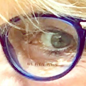 Burberry Royal Blue lovely 🐱 👁 FRAMES